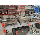 Lot of (6) stainless steel chafing dishes
