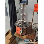 Sweet Fountains SC-23 stainless steel chocolate fountain