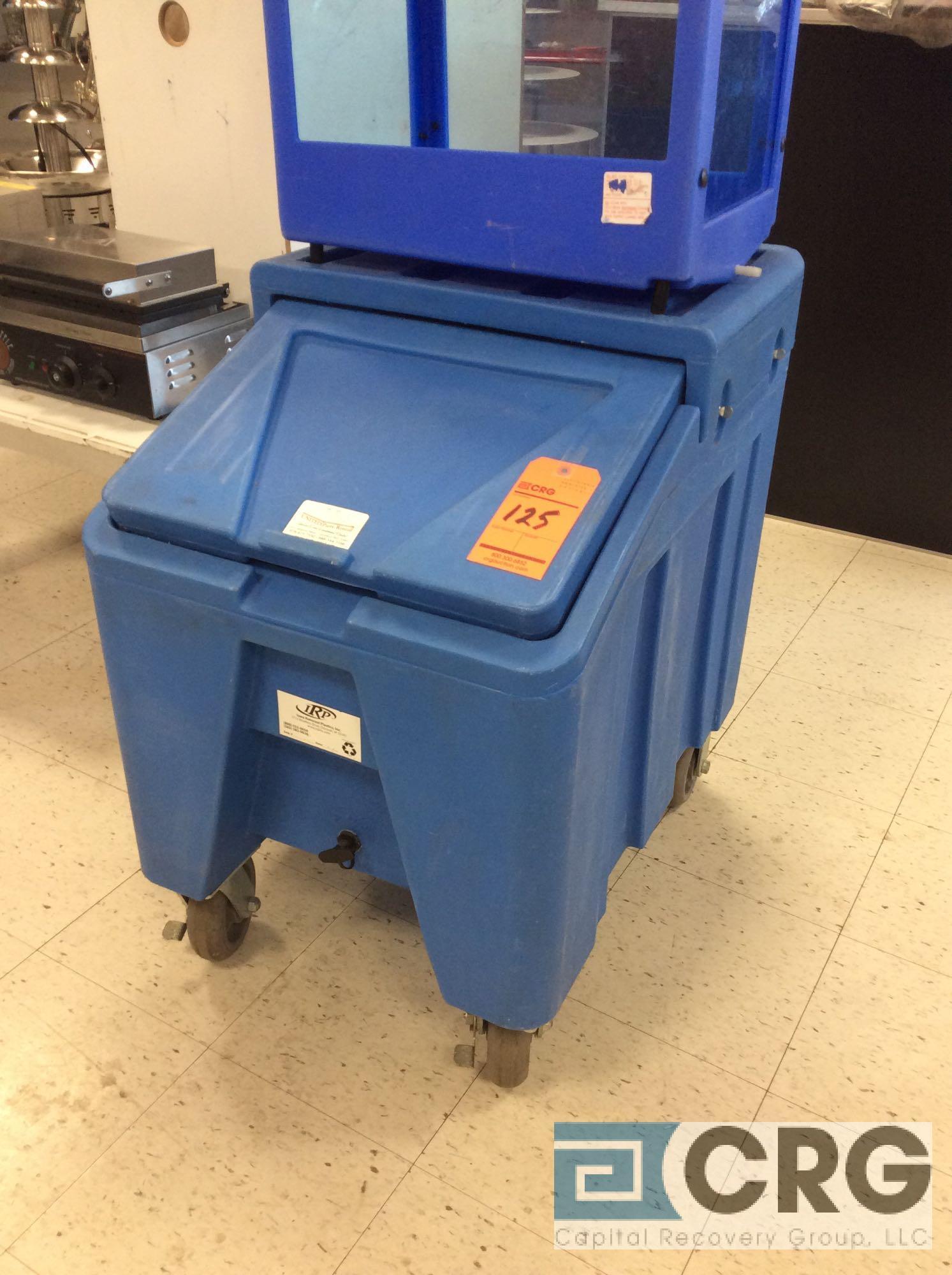 Portable ice bin