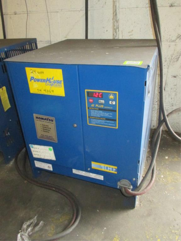 Lot 111 - PowerHouse Ferro 100 (CR12FR3B-750) Forklift Battery Charger with dI Controllers, 24V. 12 Cells;