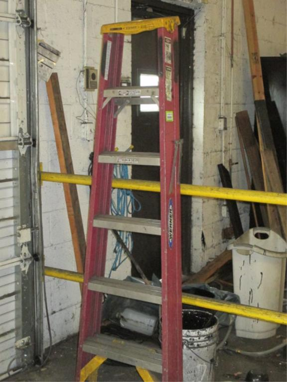 Lot 132 - 6ft Folding Ladder. HIT# 2188126. Building 2. Asset(s) Located at 1578 Litton Drive, Stone