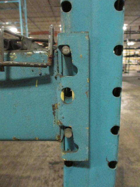 Lot 158 - Lot: (5 Tier, 10 sections) Warehouse Pallet Racking, Redirack Style. Consisting of: (10) Upright