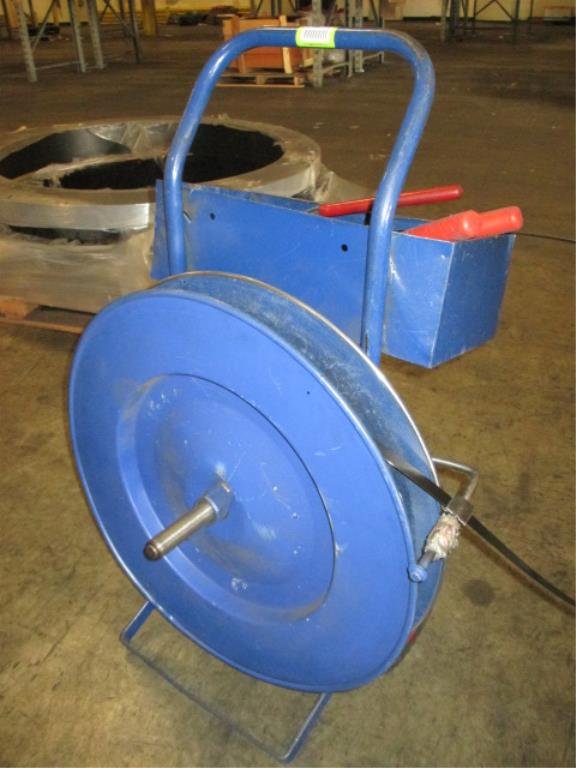 Lot 117 - Uline Strapping Kit with Tensioner and Crimper. HIT# 2188110. Building 1. Asset(s) Located at 1578