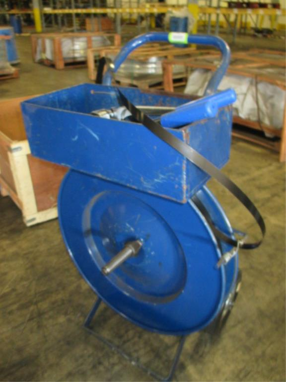 Lot 118 - Uline Strapping Kit with Tensioner and Crimper. HIT# 2188111. Building 1. Asset(s) Located at 1578