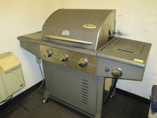 Lot 134 - Amana 3-Burner Gas Grill. HIT# 2188128. Building 2. Asset(s) Located at 1578 Litton Drive, Stone