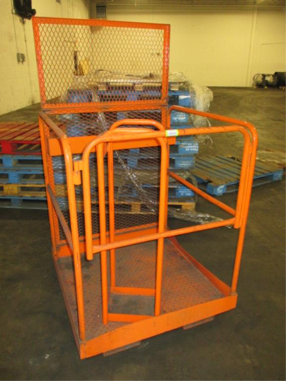 Lot 130 - 3ft Forklift Man Basket. HIT# 2188124. Building 2. Asset(s) Located at 1578 Litton Drive, Stone