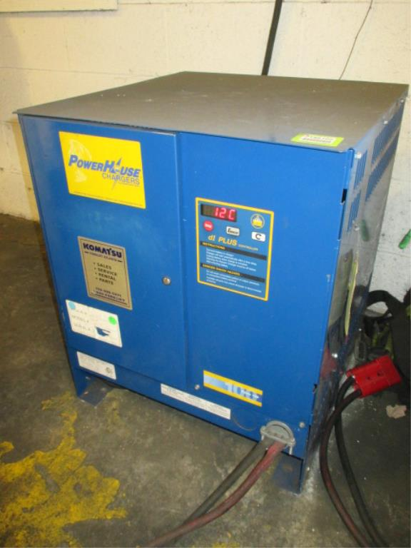 Lot 112 - PowerHouse Ferro 100 (CR12FR3B-750) Forklift Battery Charger with dI Controllers, 24V. 12 Cells;