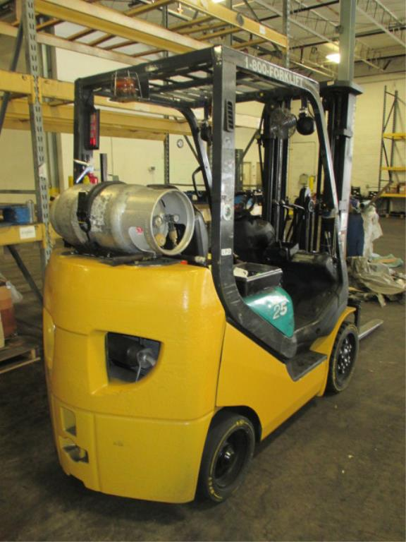Lot 102 - Komatsu FG25ST-16 4-Wheel LP Gas Forklift Truck [propane not included]. MFD: 2007, Hours: 6934.8;