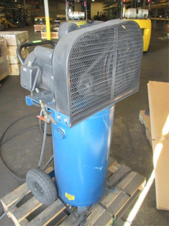 Lot 126 - Puma UC0205 Air Compressor, 20 Gal., 135 PSI, 7.6CMF. HIT# 2188120. Building 1. Asset(s) Located
