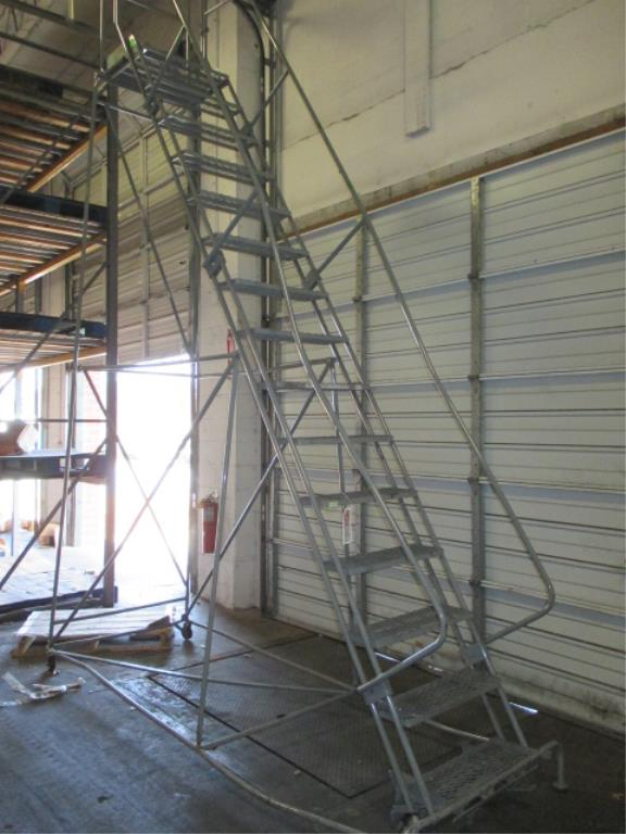 Lot 138 - 12ft Warehouse Ladder. HIT# 2188132. Building 1. Asset(s) Located at 1578 Litton Drive, Stone