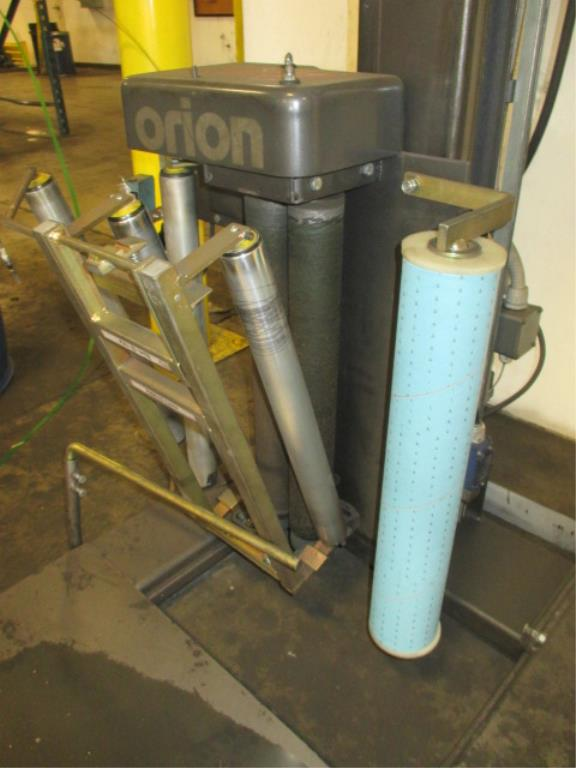 Lot 115 - Orion Packaging Systems H77/20 Semi-Automatic Turntable Stretch Wrapper with SICK WT260-R280