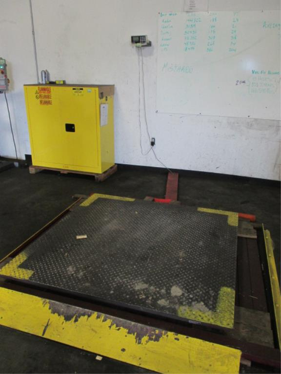 Lot 125 - Arlyn Scales Industrial Scale, 5000lbs x 1lbs. HIT# 2188119. Building 1. Asset(s) Located at 1578