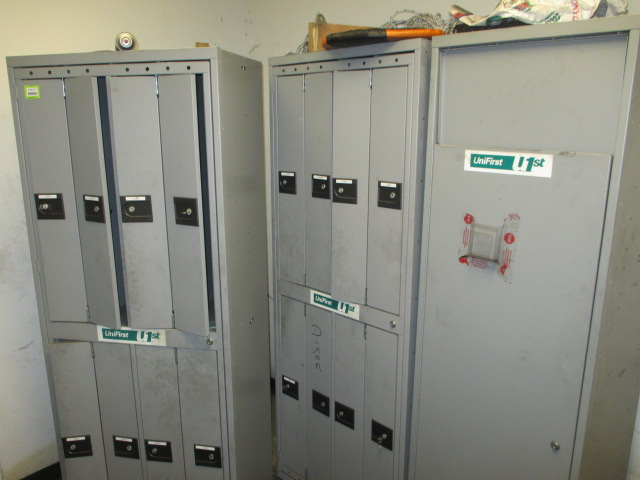 Lot 133 - UniFirst Lot: (2) 8-Door Garment Lockers. HIT# 2188127. Building 2. Asset(s) Located at 1578