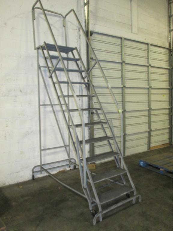 Lot 131 - 8ft Warehouse Ladder. HIT# 2188125. Building 2. Asset(s) Located at 1578 Litton Drive, Stone