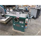 """2014 GRIZZLY 3 HP SHAPER, MODEL G1026, 28"""" X 30-1/2"""" TABLE, S/N 1430014"""