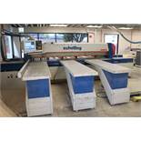 1994 SCHELLING CNC PANEL SAW, TYPE FI 330, FRONT LOADING, WIN COMMANDER CNC F1.330 CONTROL &