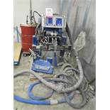 GRACO REACTOR H-XP3 HYDRAULIC COATINGS PROPORTIONER, DESIGNED FOR HIGH PRESSURE APPLICATION OF