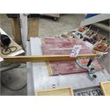 MITER GAUGE SYSTEM FOR TABLE SAW