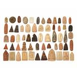 TSATSA COLLECTION WITH 59 INDIVIDUAL LOTS – 17th – 20th CENTURY Stone, terracotta, ceramic and other