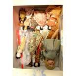 A group of ceramic dolls, including a Schoenau & H