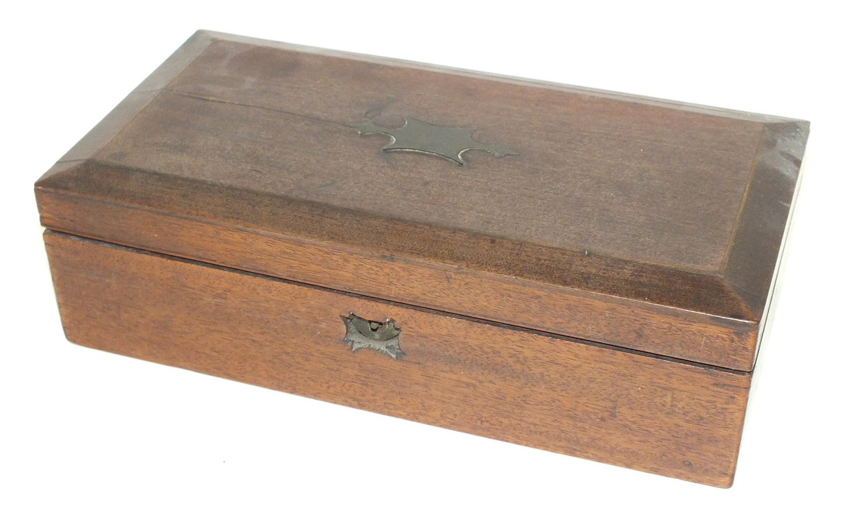 A late-Victorian 'Large Improved Compound' monocular travelling microscope, in fitted box with - Image 2 of 2