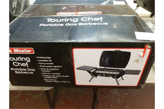 Flame Master Bbq.Flamemaster Touring Chef Portable Gas Bbq 106 X 44 X 41 Cm
