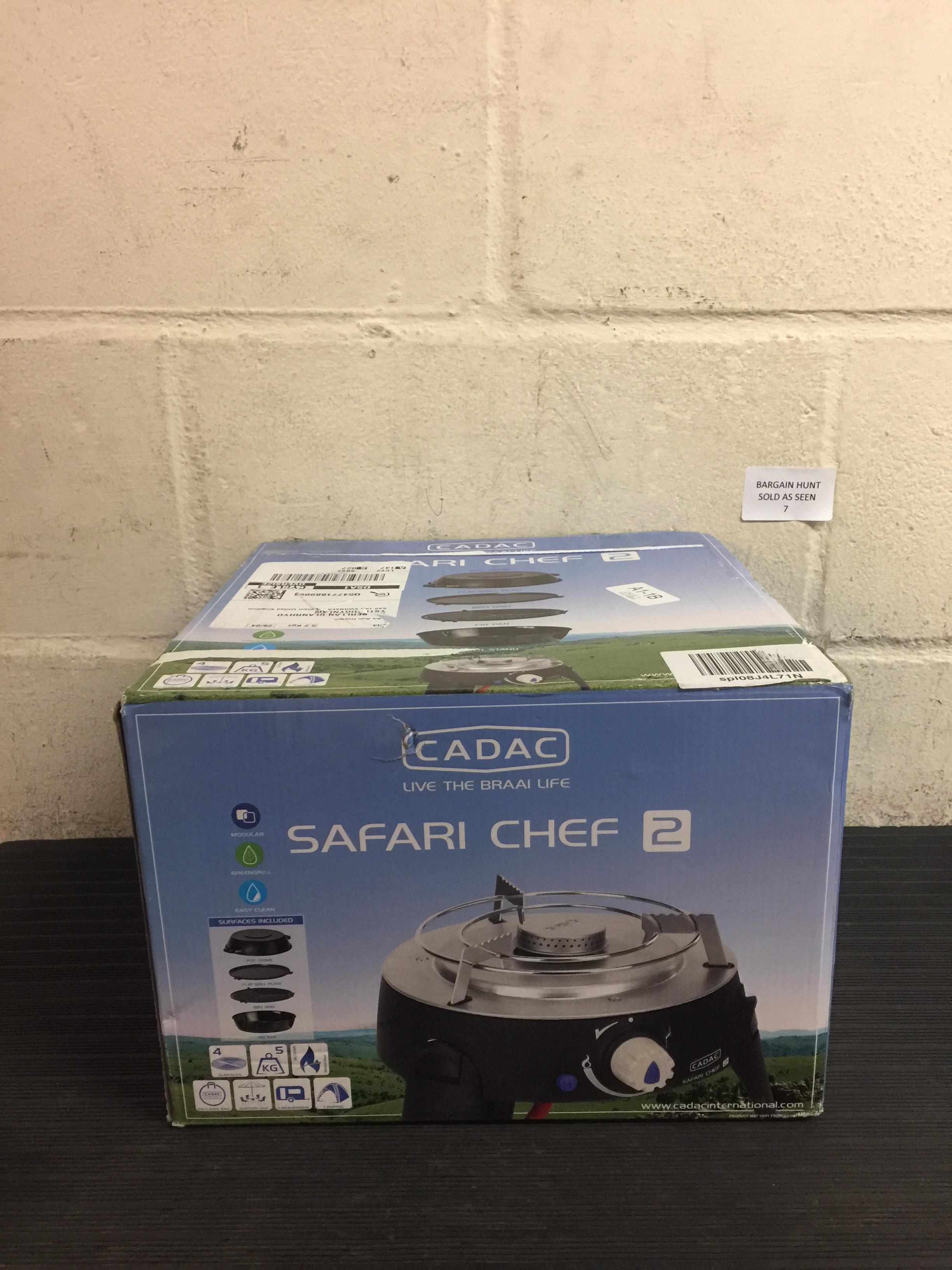 Lot 7 - Cadac Safari Chef 2 RRP £114.99