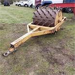 48-inch Pull Behind Sheepsfoot Roller, 40 in Diameter