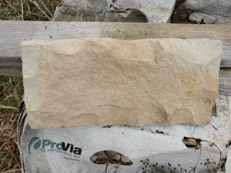 Lot 40 - Sandusky Limestone Flats (9) Boxes 10 sq. ft, (6) Limestone Corners, Loading Fee $100, Loading by