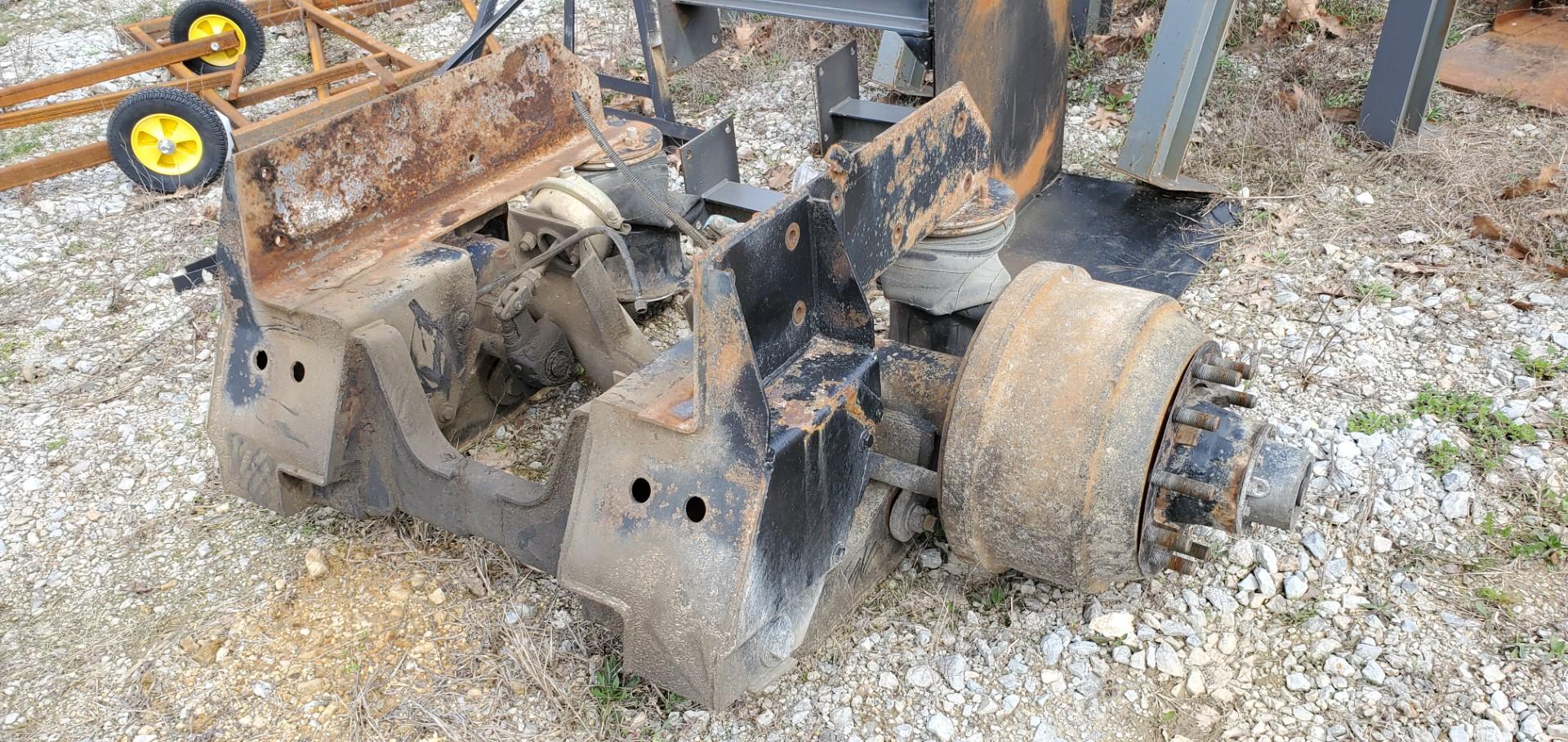 Dump Truck Lift Axle