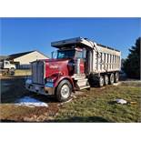 2003 Kenworth W900 8 x 4 Dump Truck, ISX-500 Engine, 500 HP, 18-Sp Transmission, Chalmers 800 Susp.