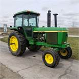 John Deere Model 4430 H Tractor w/ Enclosed Cab, 7520 Hours, s/n 030228R