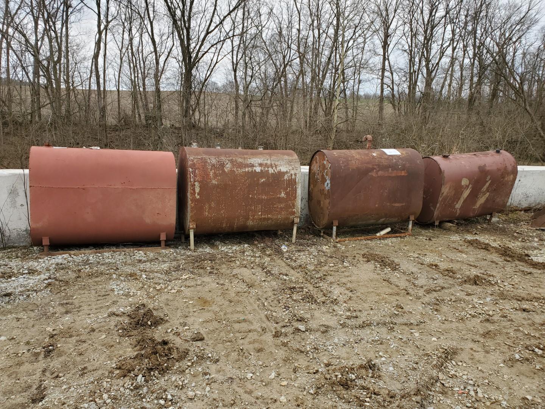 (4) 250 Gallon Fuel Tanks - Image 2 of 2