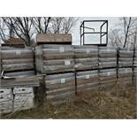 (42) Skids ReadyBrick 8x4x16 HH RB, Brownstone Conc W/IWR 180 count per skid, Loading Fee $400