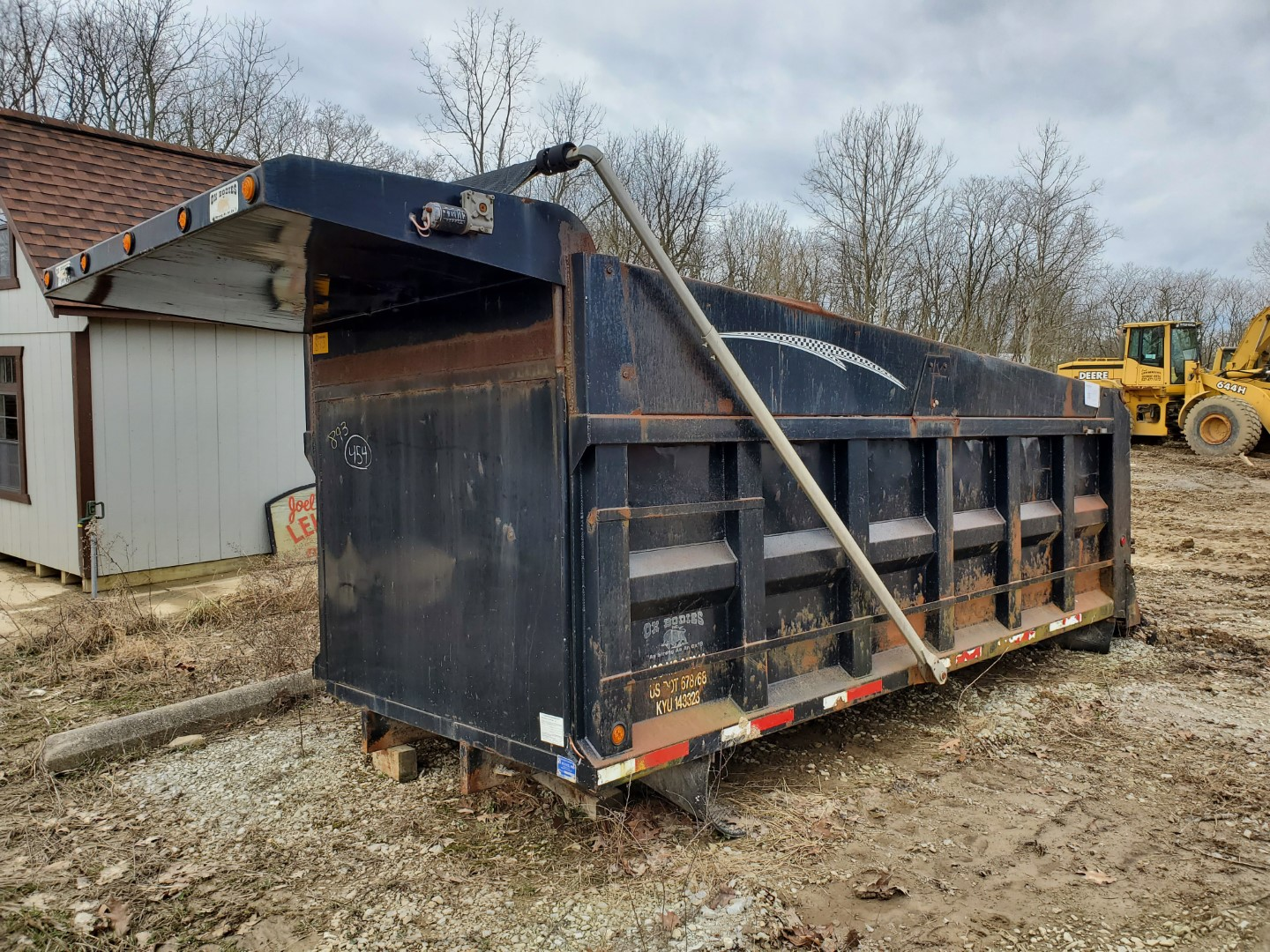 Oxbodies 16 ft, 17-19 Yard Dump Bed w/ Tarp System, Loading Fee, $350 - Image 2 of 6