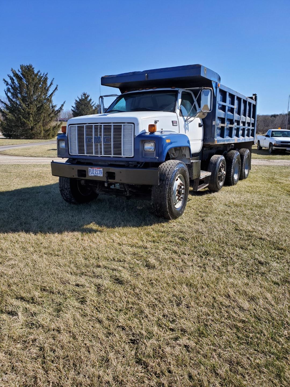 2002 GMC C 8500 16' Tri Axle Dump Truck w/ Steerable Lift Axle, Auto, Cat C7, 16' Steel Dump Bed - Image 3 of 26