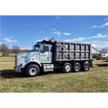 1999 Kenworth T-800 Dump Tri-Axle Dump Truck, Cummins N-14, 460E+, 8 LL Transmission