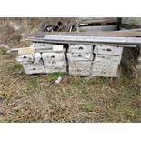 Sandusky Limestone Flats (9) Boxes 10 sq. ft, (6) Limestone Corners, Loading Fee $100, Loading by