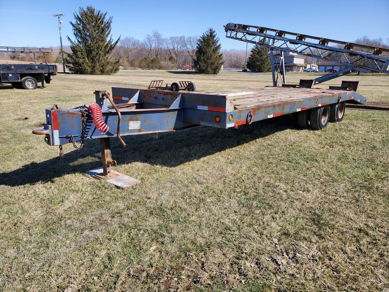 Eager Beaver Model 10HA Equipment Trailer 19 ft. Main Deck w/5 ft Beaver-tail x 81 in Wide, - Image 2 of 8