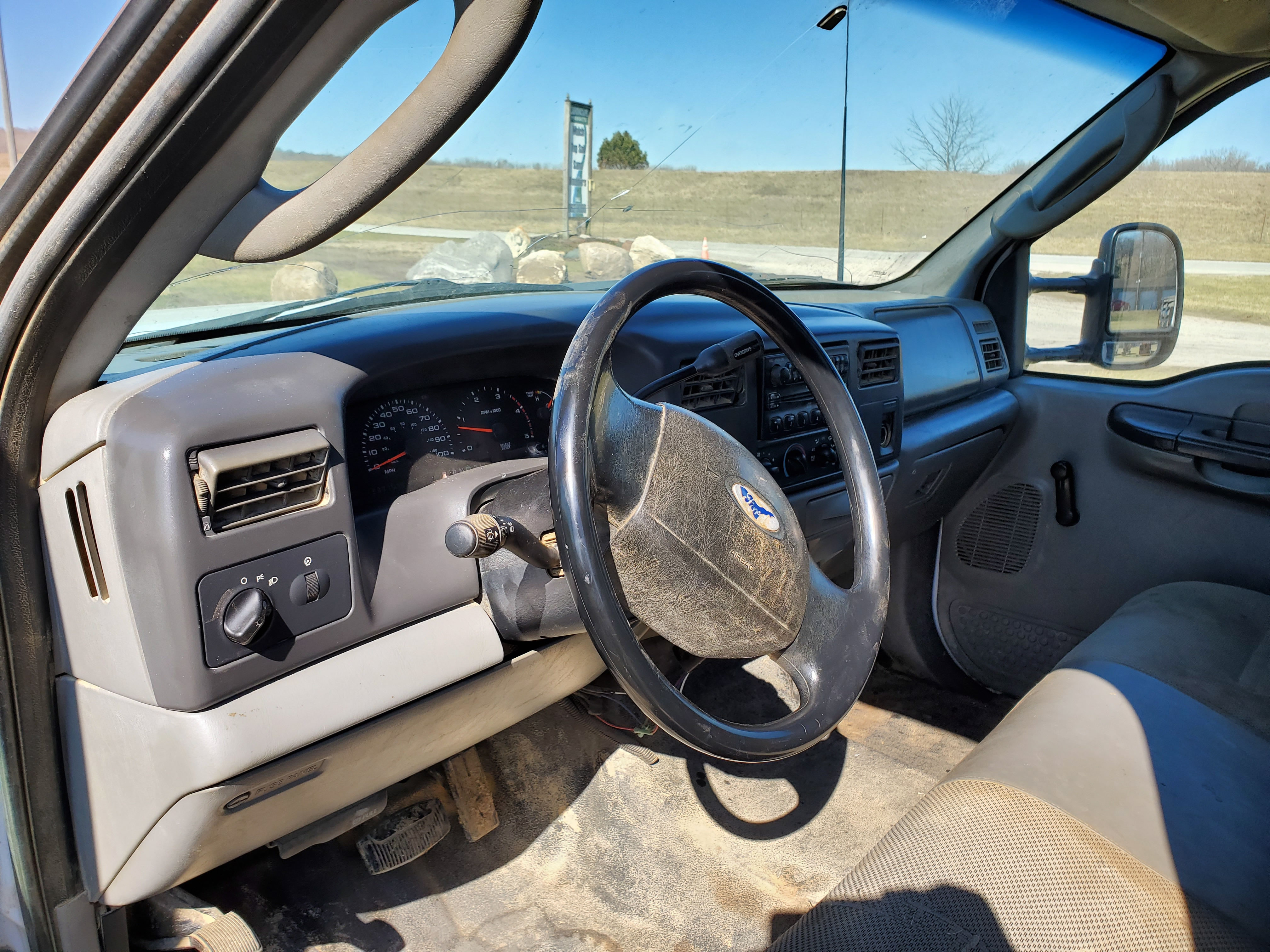 2003 F550 Ford Super Duty Pickup, Automatic, 7.3 Power Stroke Diesel, 8' Foot Omaha Flatbed - Image 14 of 18