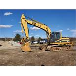 1996 Caterpillar 322L Hydraulic Excavator, Enclosed Cab, 28 in Bucket, Cat 3116 Engine, 9579 Hours