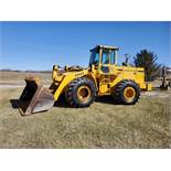 1989 John Deere Loader Model 644E w/ 3.5 CU Yard Bucket, Enclosed Cab, 13,449 Hours, All New Tires