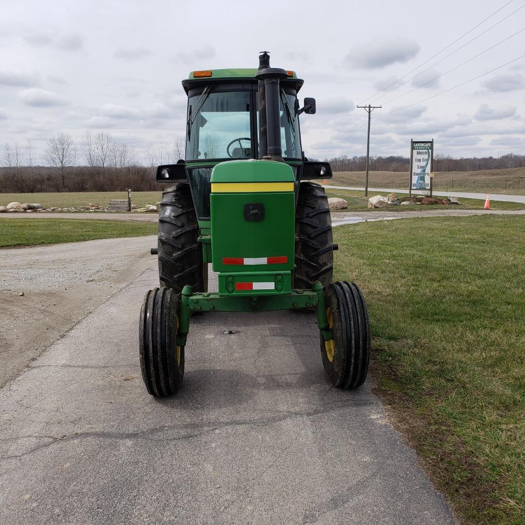 John Deere Model 4430 H Tractor w/ Enclosed Cab, 7520 Hours, s/n 030228R - Image 10 of 12