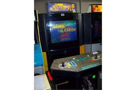 MARVEL VS. CAPCOM 2 SHOWCASE ARCADE GAME Item is in used condition ...