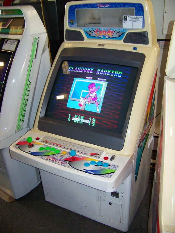 super neo 29 candy cabinet jamma arcade game item is in used