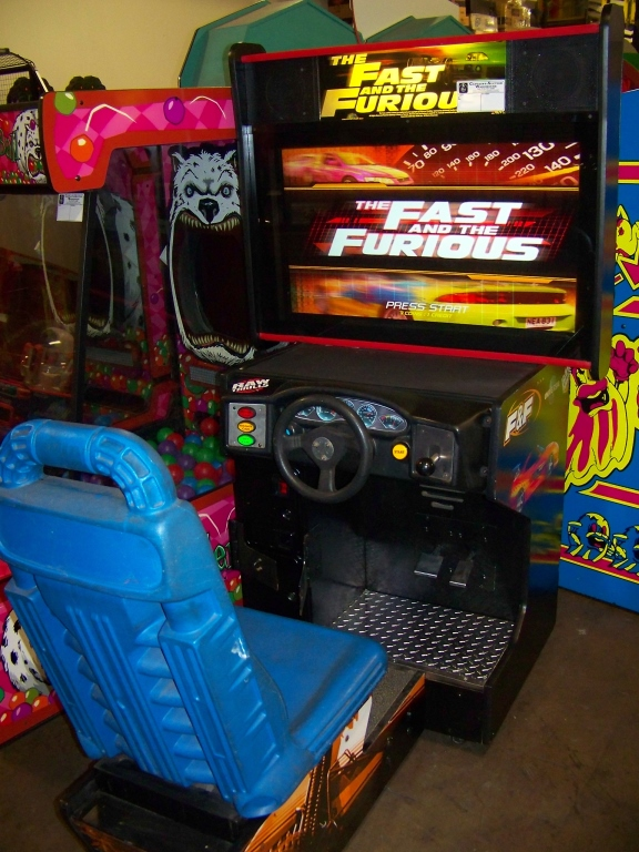"""FAST AND FURIOUS DX SITDOWN DRIVER 35"""" LCD PANEL"""