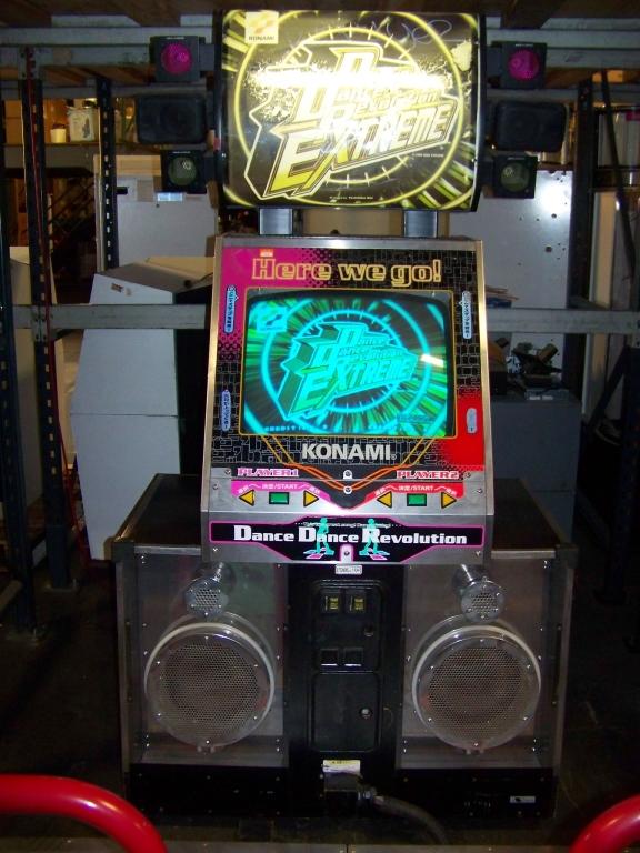 Lot 46 - DDR 8TH MIX EXTREME 2 PLAYER KONAMI DANCE ARCADE