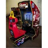 CART FURY RACING SITDOWN ARCADE GAME MIDWAY