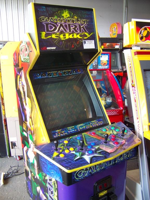 GAUNTLET DARK LEGACY ARCADE GAME ATARI DEDICATED Item is in used ...