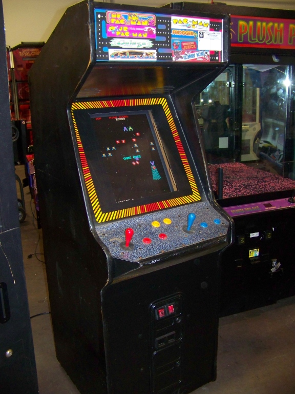 Lot 29 - 60 IN 1 MULTICADE UPRIGHT ARCADE GAME LCD MONITOR